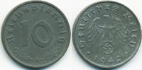 10 Reichspfennig 1942 A Drittes Reich Zink gutes vorzüglich  3,00 EUR  +  1,80 EUR shipping