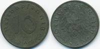 10 Reichspfennig 1943 A Drittes Reich Zink sehr schön+ - etwas rau  0,60 EUR  +  1,80 EUR shipping