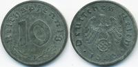 10 Reichspfennig 1943 F Drittes Reich Zink vorzüglich  5,50 EUR  +  1,80 EUR shipping