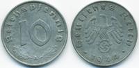 10 Reichspfennig 1944 A Drittes Reich Zink sehr schön+ - gereinigt  1,00 EUR  +  1,80 EUR shipping