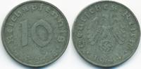 10 Reichspfennig 1944 D Drittes Reich Zink gutes sehr schön  2,80 EUR  +  1,80 EUR shipping