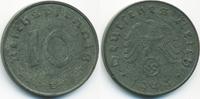 10 Reichspfennig 1944 E Drittes Reich Zink fast vorzüglich - winziger R... 4,50 EUR  +  1,80 EUR shipping