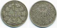 1/2 Mark 1905 D Kaiserreich Silber fast sehr schön  2,20 EUR  +  1,80 EUR shipping