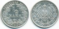 1/2 Mark 1906 D Kaiserreich Silber sehr schön/vorzüglich - leicht gerei... 3,00 EUR  +  1,80 EUR shipping