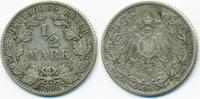 1/2 Mark 1906 J Kaiserreich Silber schön/sehr schön  4,50 EUR  +  1,80 EUR shipping
