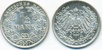 1/2 Mark 1907 D Kaiserreich Silber prägefrisch/stempelglanz  16,00 EUR  +  1,80 EUR shipping