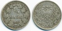 1/2 Mark 1909 D Kaiserreich Silber sehr schön  5,50 EUR  +  1,80 EUR shipping
