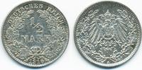 1/2 Mark 1916 A Kaiserreich Silber vorzüglich  3,50 EUR  +  1,80 EUR shipping