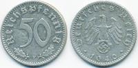 50 Reichspfennig 1940 F Drittes Reich Aluminium sehr schön+  6,50 EUR  +  1,80 EUR shipping