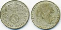 2 Reichsmark 1936 A Drittes Reich Hindenburg mit Hk - Silber schön  4,50 EUR  +  1,80 EUR shipping