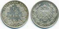 1/2 Mark 1908 D Kaiserreich Silber vorzüglich+  49,00 EUR  +  4,80 EUR shipping