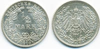 1/2 Mark 1908 D Kaiserreich Silber fast prägefrisch  59,00 EUR  +  4,80 EUR shipping