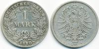 1 Mark 1880 J Kaiserreich kleiner Adler - Silber fast sehr schön  36,00 EUR  +  4,80 EUR shipping