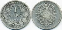 1 Mark 1883 F Kaiserreich kleiner Adler - Silber schön/sehr schön  45,00 EUR  +  4,80 EUR shipping