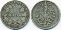 1 Mark 1883 J Kaiserreich kleiner Adler - Silber schön/sehr schön  69,00 EUR  +  4,80 EUR shipping