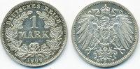 1 Mark 1902 D Kaiserreich großer Adler - Silber vorzüglich/prägefrisch  22,00 EUR  +  4,80 EUR shipping