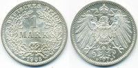 1 Mark 1905 D Kaiserreich großer Adler - Silber prägefrisch/stempelglan... 20,00 EUR  +  4,80 EUR shipping