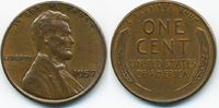 1 Cent 1957 USA Lincoln Cent vorzüglich  0,80 EUR  +  1,80 EUR shipping