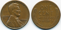1 Cent 1958 USA Lincoln Cent vorzüglich  0,80 EUR  +  1,80 EUR shipping
