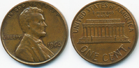 1 Cent 1960 USA Lincoln Cent Memorial fast vorzüglich  0,60 EUR  +  1,80 EUR shipping