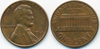 1 Cent 1961 USA Lincoln Cent Memorial vorzüglich  0,50 EUR  +  1,80 EUR shipping