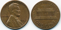 1 Cent 1966 USA Lincoln Cent Memorial fast prägefrisch  0,50 EUR  +  1,80 EUR shipping