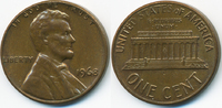 1 Cent 1968 USA Lincoln Cent Memorial gutes vorzüglich  0,60 EUR  +  1,80 EUR shipping
