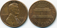 1 Cent 1974 USA Lincoln Cent Memorial fast prägefrisch  0,50 EUR  +  1,80 EUR shipping