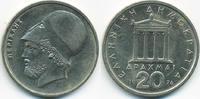 20 Drachmen 1976 Griechenland - Greece Dritte Republik seit 1973 knapp ... 1,50 EUR  +  1,80 EUR shipping