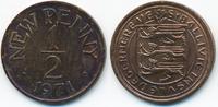 1/2 New Penny 1971 Großbritannien - Guernsey Elisabeth II. ab 1952 präg... 1,50 EUR  +  1,80 EUR shipping