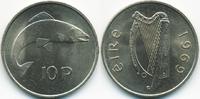 10 Pence 1969 Irland - Ireland Republik Irland seit 1949 prägefrisch  2,50 EUR  +  1,80 EUR shipping