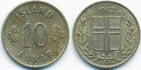 10 Aurar 1963 Island - Iceland Republik vorzüglich - minimal fleckig  0,40 EUR  +  1,80 EUR shipping