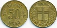 50 Aurar 1969 Island - Iceland Republik sehr schön/vorzüglich  0,40 EUR  +  1,80 EUR shipping