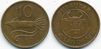 10 Aurar 1981 Island - Iceland Republik vorzüglich/prägefrisch  0,50 EUR  +  1,80 EUR shipping