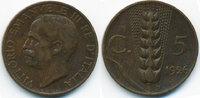 5 Centesimi 1926 R Italien - Italy Viktor Emanuel III. 1900-1946 sehr s... 2,00 EUR  +  1,80 EUR shipping