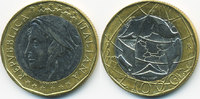 1000 Lire 1997 R Italien - Italy Republik seit 1946 – Europakarte richt... 2,50 EUR  +  1,80 EUR shipping