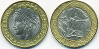 1000 Lire 1998 R Italien - Italy Republik seit 1946 – Europakarte richt... 2,50 EUR  +  1,80 EUR shipping
