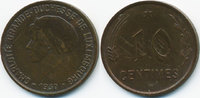 10 Centimes 1930 Luxemburg - Luxembourg Charlotte 1919-1964 sehr schön+... 2,50 EUR  +  1,80 EUR shipping