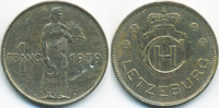 1 Franc 1939 Luxemburg - Luxembourg Charlotte 1919-1964 sehr schön+ - k... 3,50 EUR  +  1,80 EUR shipping