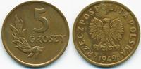 5 Groszy 1949 Polen - Poland Volksrepublik 1949-1990 - Bronze sehr schö... 0,70 EUR  +  1,80 EUR shipping