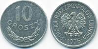 10 Groszy 1976 MW Polen - Poland Volksrepublik 1949-1990 sehr schön/vor... 1,00 EUR  +  1,80 EUR shipping