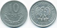 10 Groszy 1976 MW Polen - Poland Volksrepublik 1949-1990 vorzüglich+  1,50 EUR  +  1,80 EUR shipping
