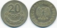 20 Groszy 1949 Polen - Poland Volksrepublik 1949-1990 – Kupfer/Nickel s... 0,50 EUR  +  1,80 EUR shipping
