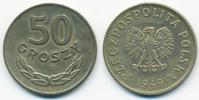 50 Groszy 1949 Polen - Poland Volksrepublik 1949-1990 – Kupfer/Nickel s... 1,00 EUR  +  1,80 EUR shipping