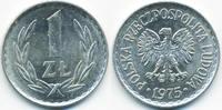 1 Zloty 1975 MW Polen - Poland Volksrepublik 1949-1990 gutes vorzüglich  2,50 EUR  +  1,80 EUR shipping