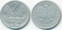 2 Zlote 1958 Polen - Poland Volksrepublik 1949-1990 fast sehr schön  1,00 EUR  +  1,80 EUR shipping