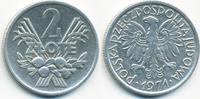 2 Zlote 1971 MW Polen - Poland Volksrepublik 1949-1990 sehr schön  3,00 EUR  +  1,80 EUR shipping
