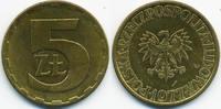5 Zlote 1977 Polen - Poland Volksrepublik 1949-1990 fast vorzüglich  1,00 EUR  +  1,80 EUR shipping