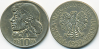 10 Zloty 1959 Polen - Poland Volksrepublik 1949-1990 sehr schön  1,50 EUR  +  1,80 EUR shipping
