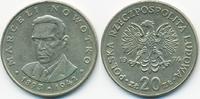 20 Zloty 1974 MW Polen - Poland Volksrepublik 1949-1990 sehr schön+  1,00 EUR  +  1,80 EUR shipping